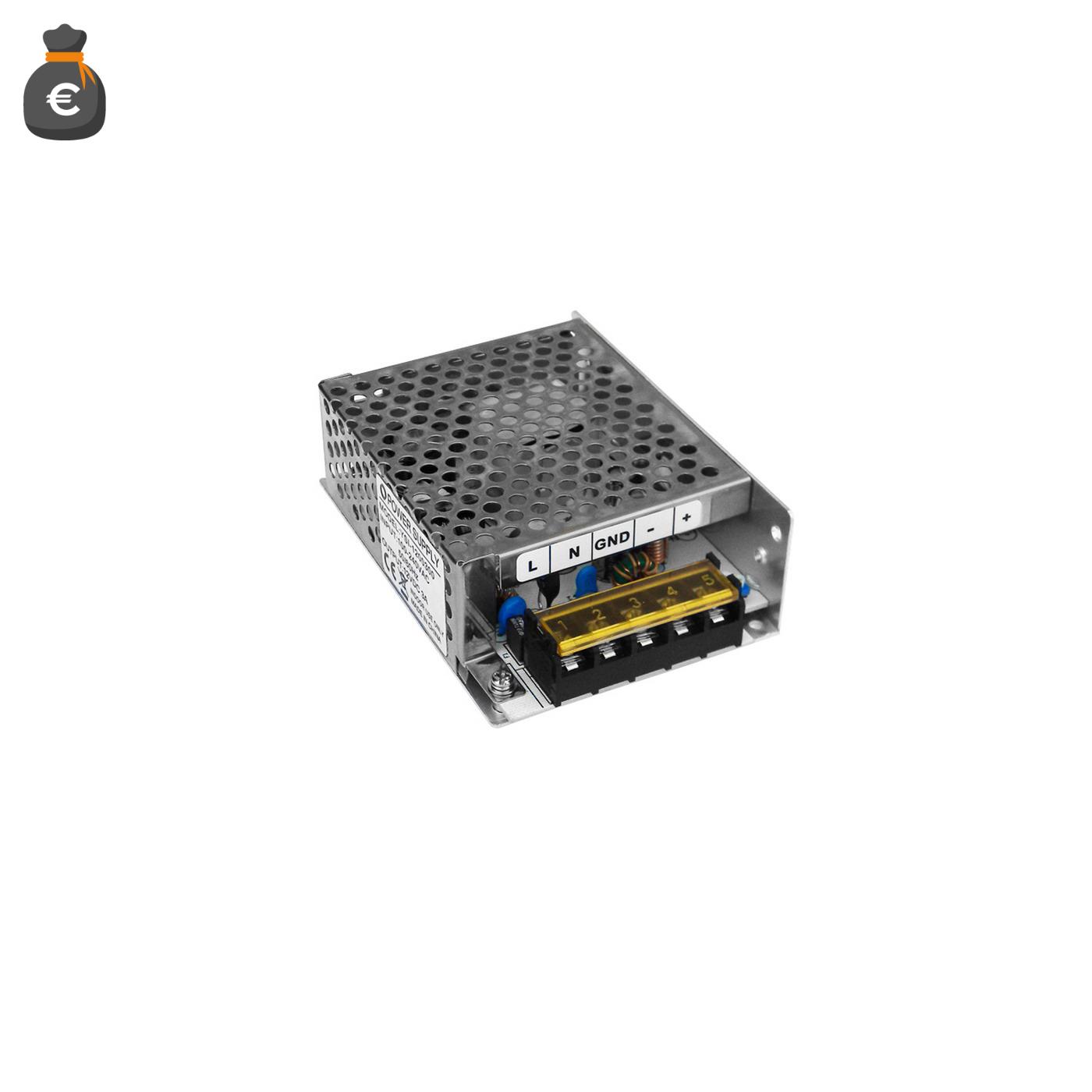 Alimentatore Switching 24V 1.5A